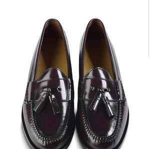 Mens tassel loafer dress shoe